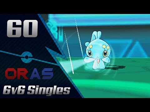 Back On The Internet -Pokemon ORAS Wifi Battle: 6v6 Singles Vs. BabyPowdahh #60 - AceTrainerTroy