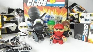 G.I. Joe figures by the Loyal Subjects feat. Snow Job, Destro, Zartan, Storm Shadow Chase & Gung Ho
