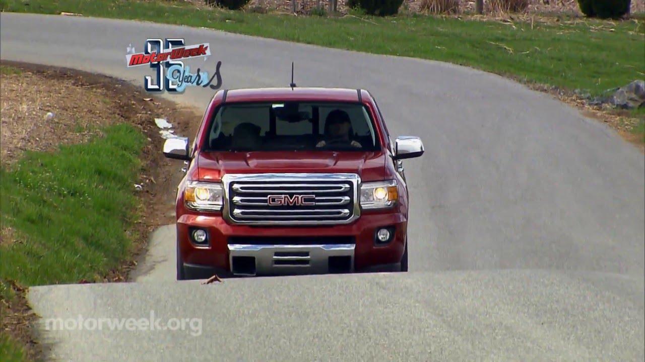 Motorweek Road Test 2016 Gmc Canyon Duramax Diesel Youtube
