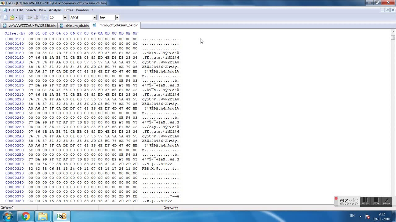 How To Vag Edc17 Med17 Immo Off Eeprom Checksum Crc