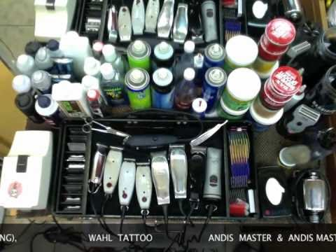 CLIPPERS, BARBER SUPPLIES, PRO BARBER STATION - YouTube