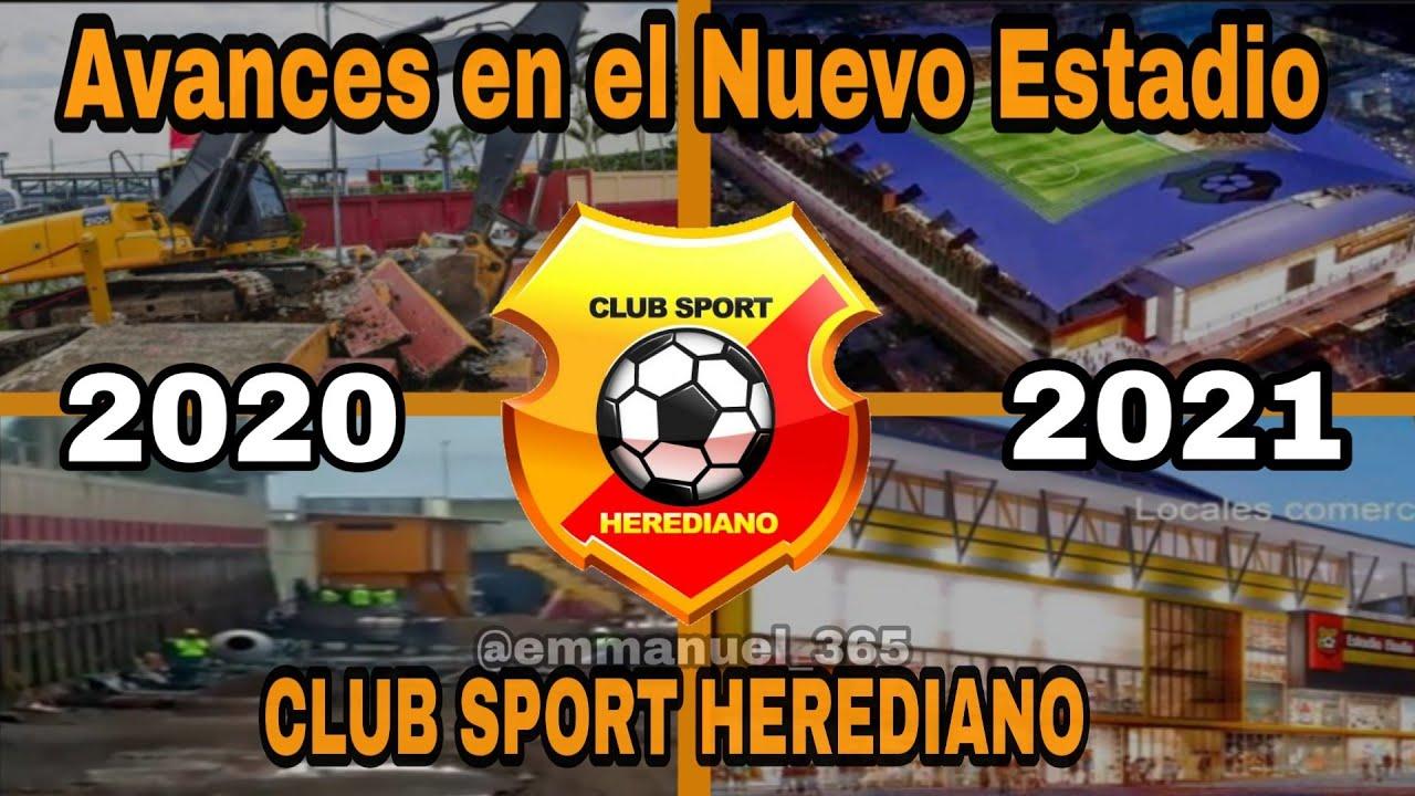 Avances en el Nuevo Estadio del CLUB SPORT HEREDIANO 2020