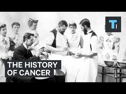 The history of cancer