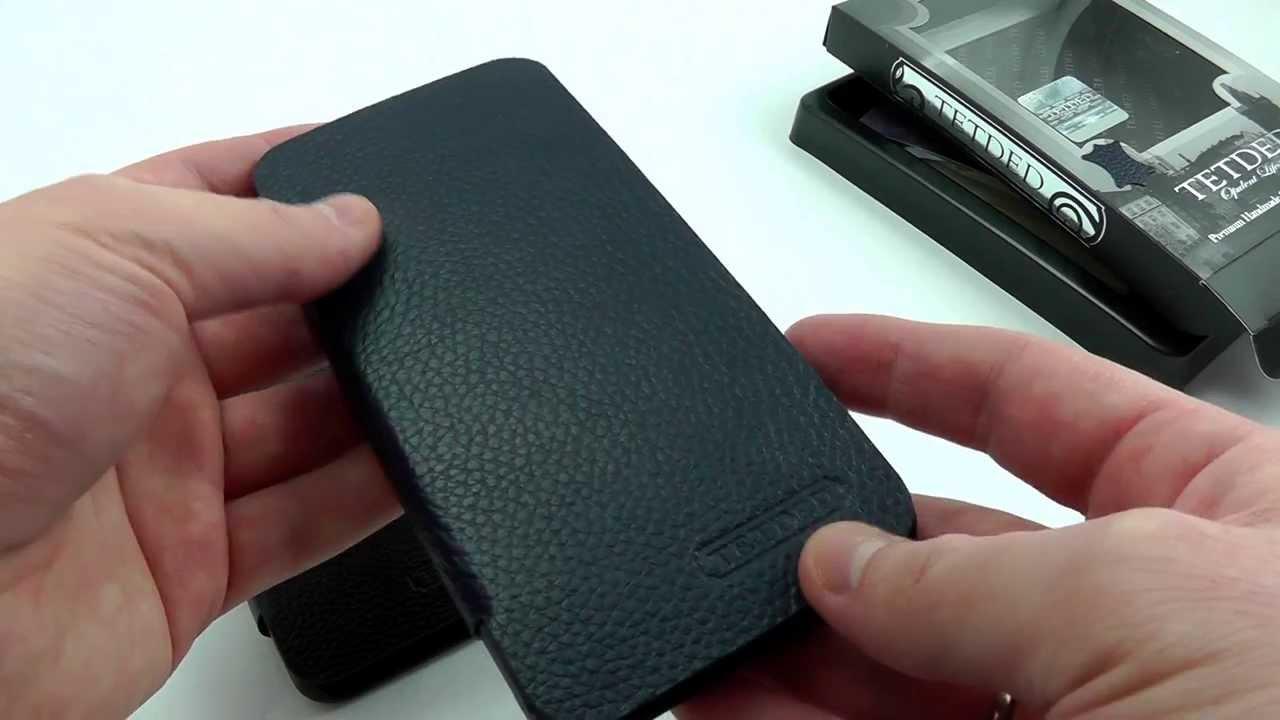 Обзор: Элегантный Кожаный Чехол-Книжка Tetded для HTC One ...