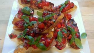 Tomato Bruschetta Recipe How To Make