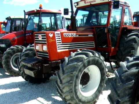 trattore gommato 100-90.avi - youtube