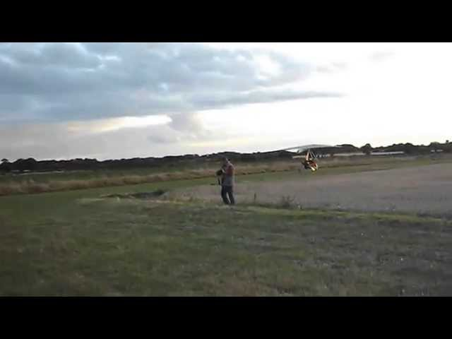 Microlight First Solo at Roddige Airfield