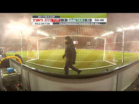 Bell VR Experience: MLS Cup - Jozy Altidore Gives TFC the Lead