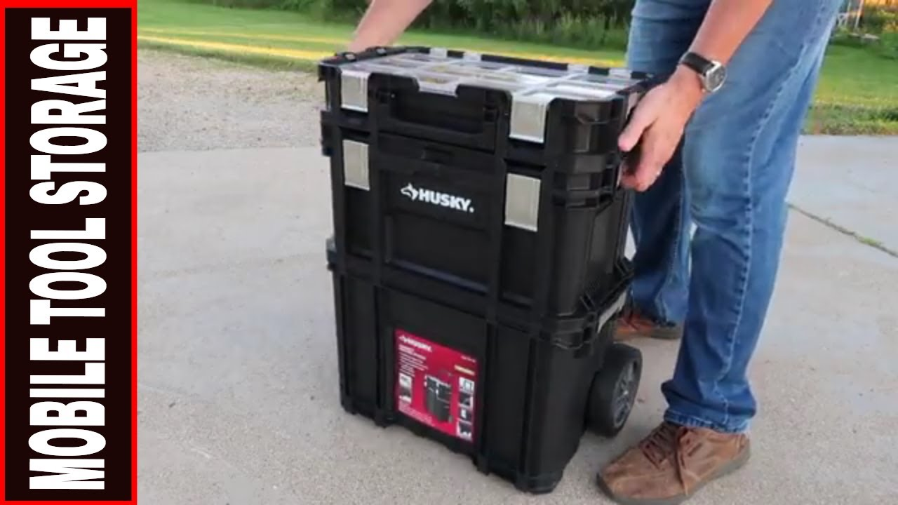 Husky Rolling System 3pc Toolbox 280381 Tool Review Tuesday Youtube