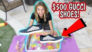 Download HYDRO DIPPING MY BROTHER'S GUCCI SHOES   Kayla Davis Mp3 and Videos