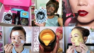 5 Must-Try Korean Beauty Products!! (Lip Tattoo, Gold Mask + MORE!)