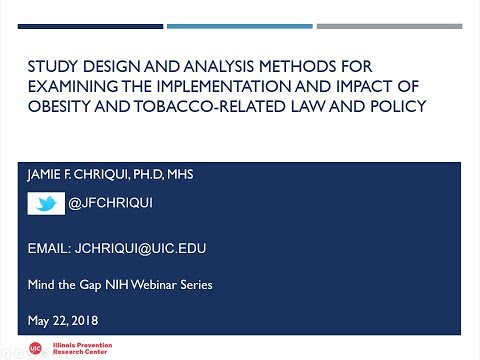 Methods For Examining The Implementation & Impact Of Obesity & Tobacco-Related Law & Policy (MtG)