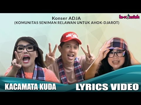 Konser ADJA - Kacamata Kuda (Official Lyric Video)