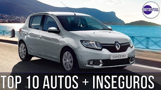 TOP 10 Most Insecure Vehicles Latin America 2019