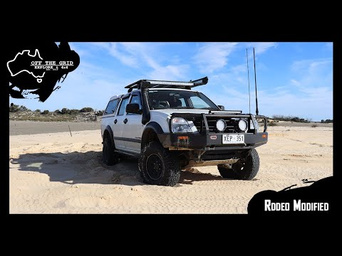 OFF THE GRID RIGS - HOLDEN RA RODEO - MODIFIED EP.1