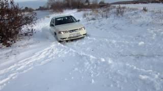 Nexia против снега. На грани дебилизма