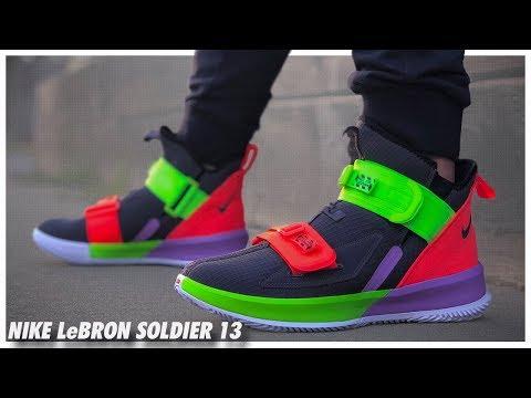 premium selection c0117 e7b84 Nike LeBron Soldier 13 - YouTube