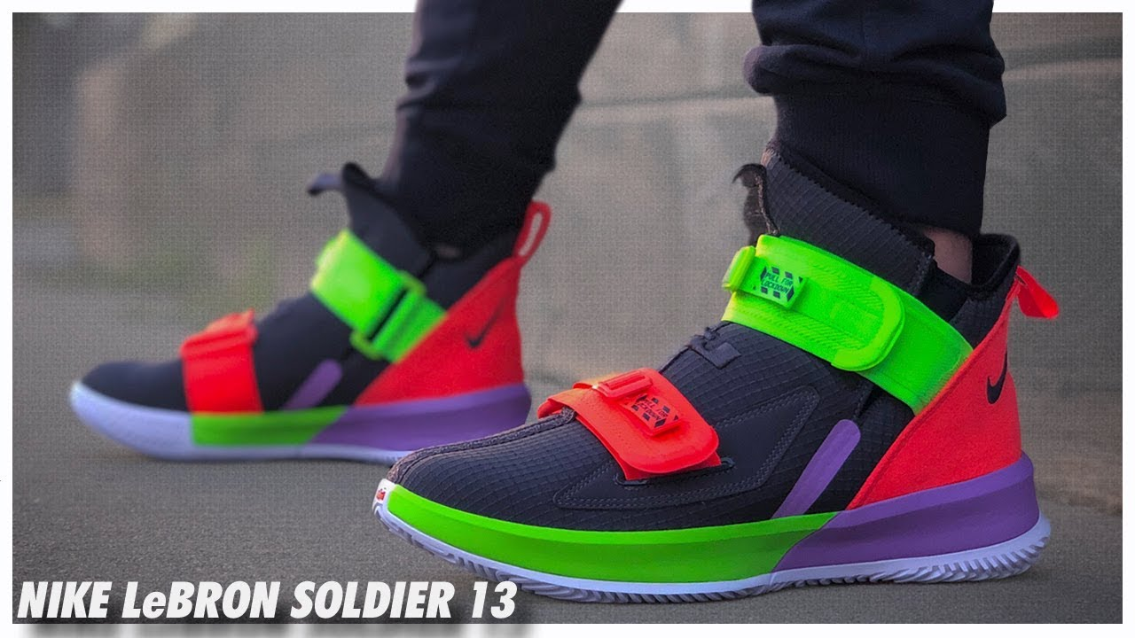 newest 8b5e1 441d7 Nike LeBron Soldier 13