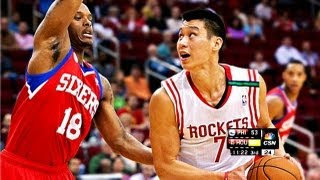 Jeremy Lin 林書豪-2012-12-19火箭vs76人 Houston Rockets vs Philadelphia 76ers