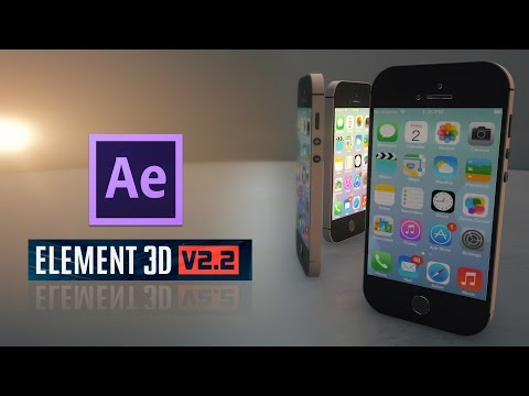 Tutorial | After Effects | Element 3D iPhone Model