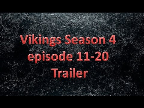 Vikings Season 4 episode 11 - 20 Trailer - Slow Motion