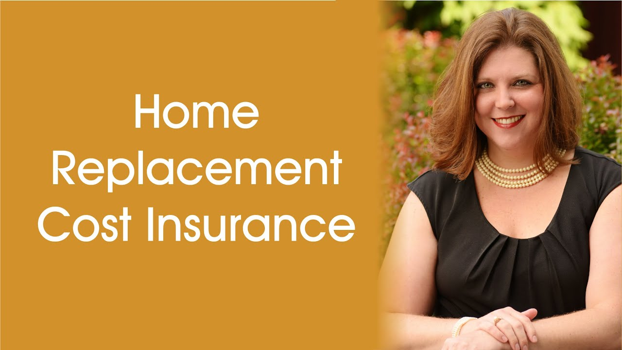 Home Replacement Cost Insurance - YouTube