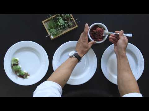 Forskellige anretninger på tallerkener - Grejskolen
