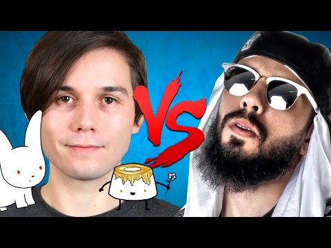 Gato Galáctico VS. Mussoumano | Batalha de Youtubers (Prod. Wzy)