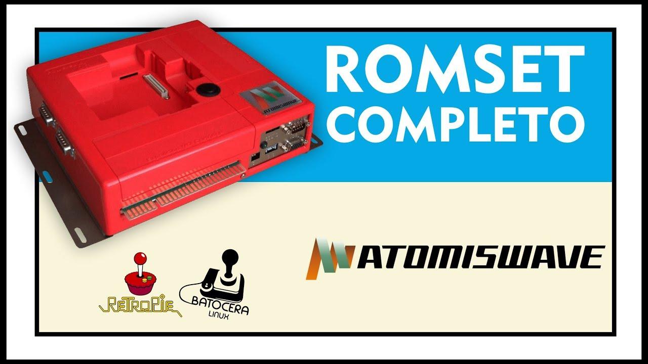 DOWNLOAD ROMSET COMPLETO DE ATOMISWAVE