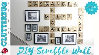 Diy Scrabble Tiles  Dollar Store Diy Decor Idea