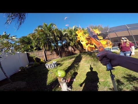 Thumbnail: GoPro: Making a Flame Sword With The Backyard Scientist