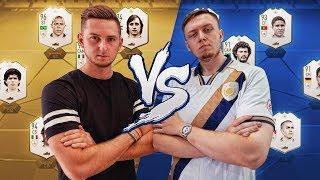 FIFA 19 | NAJLEPSZY SKŁAD IKON VS NOWE IKONY