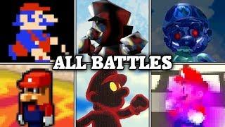 Evolution of Mario Battles (1982 - 2017)