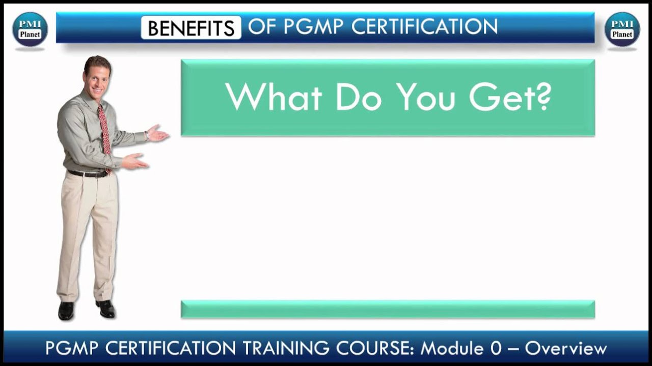 How To Complete Pgmp Program Management Professional Certification