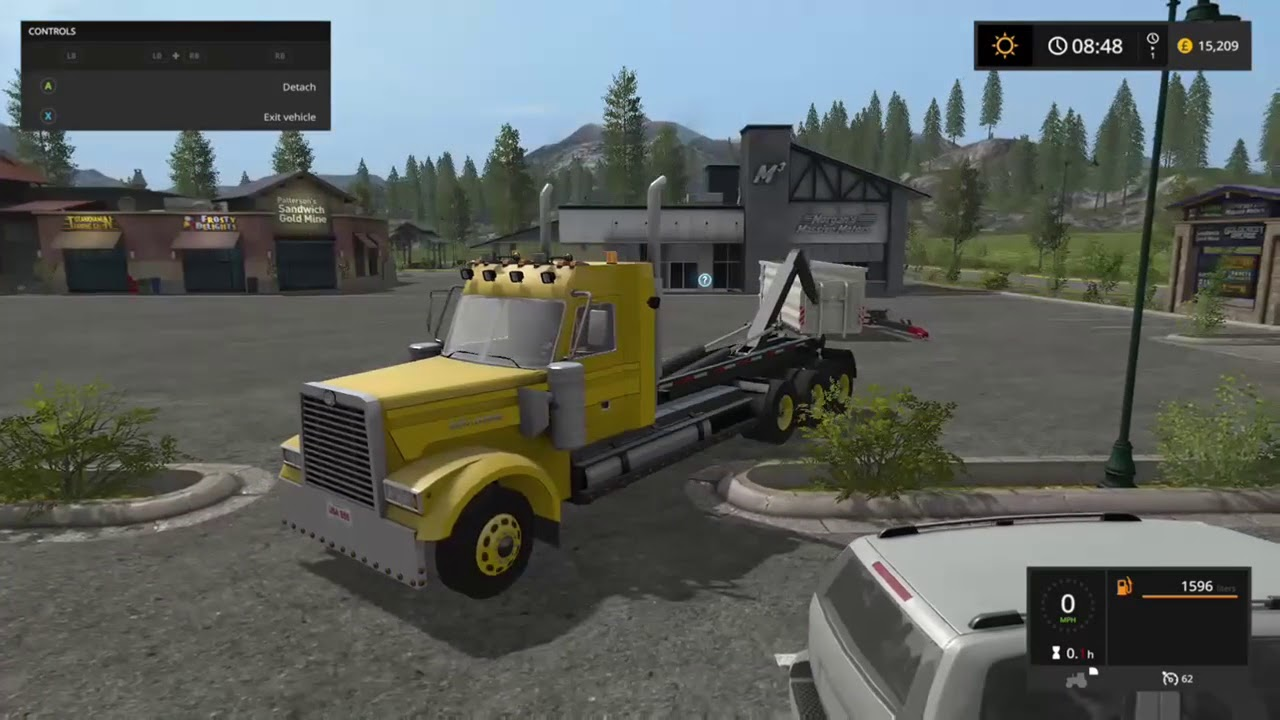 BsM 850 Hook Truck new mod vehicle for Farming Simulator 17 Xbox one PS4