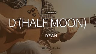 D (half moon) - DΞΔN (feat. GAEKO) 딘 DEAN | Guitar Cover, Lesson, Chords
