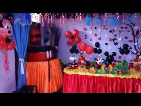 Fiesta Tematica _ La casa de Mickey Mouse