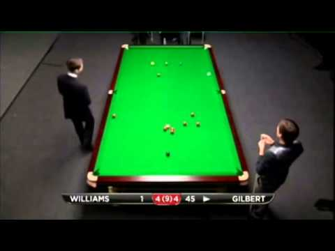 Mark Williams - David Gilbert (Frame 9) Snooker Shanghai Masters Qualifiers 2013 - Round 4