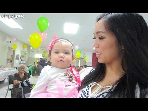 Julianna's 1st Birthday Party! - October 13, 2013 - itsJudysLife Vlog
