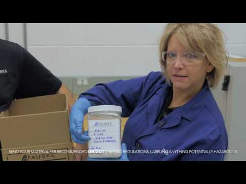 Combustible Dust Hazard Analysis (DHA) Sample Prep and Screening at Fauske & Associates, LLC