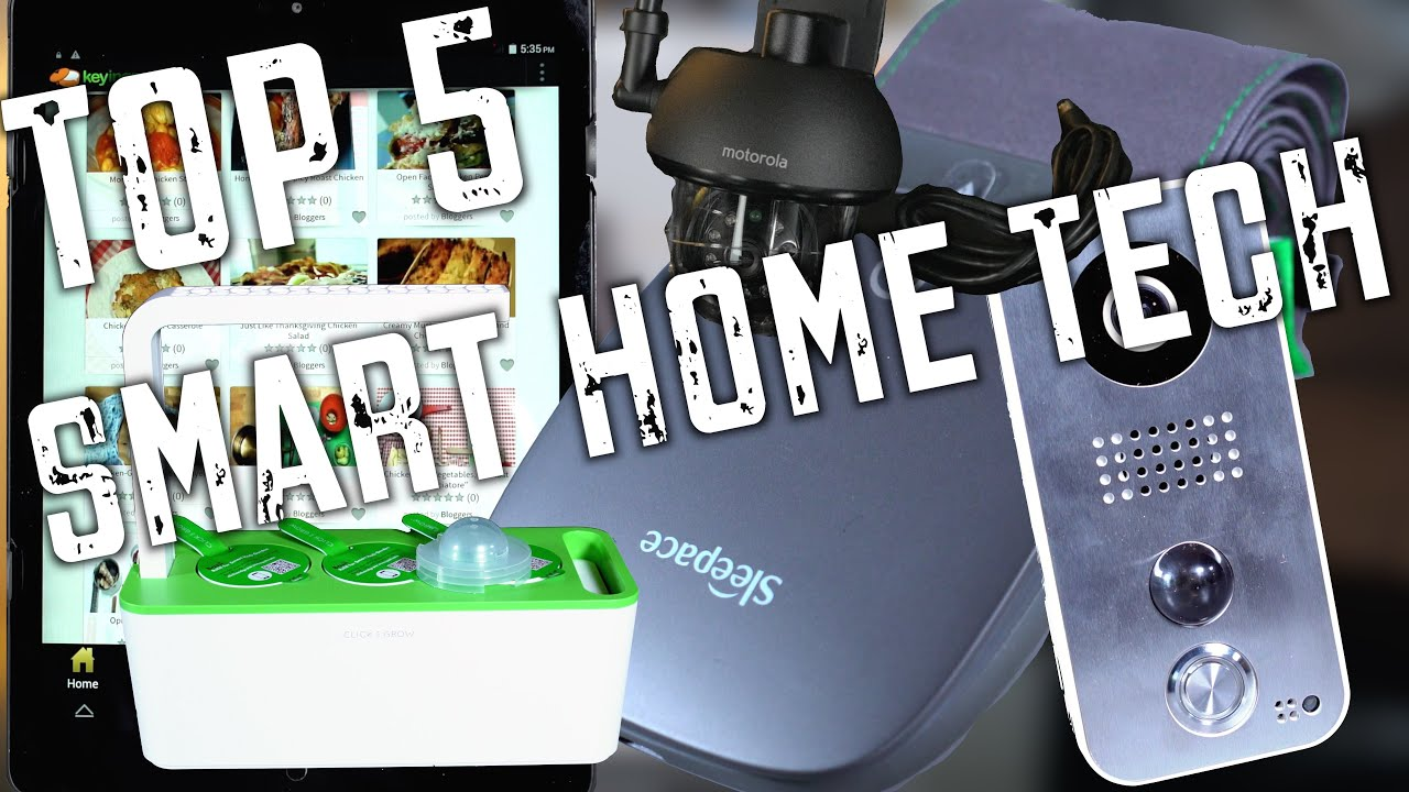 The top 5 home tech products of 2015 youtube Best home tech products