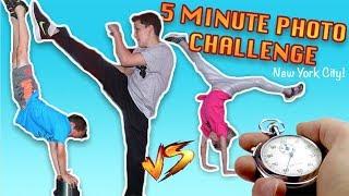 Ninja kidz 5 minute photo challenge in New York City!