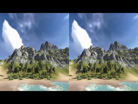 Virtual reality travel - 3D extreme stereoscopic - HD