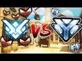 4 DIAMOND PLAYERS VS 1 TOP 500 + 5 BRONZE PLAYERS - OVERWATCH CHALLENGE