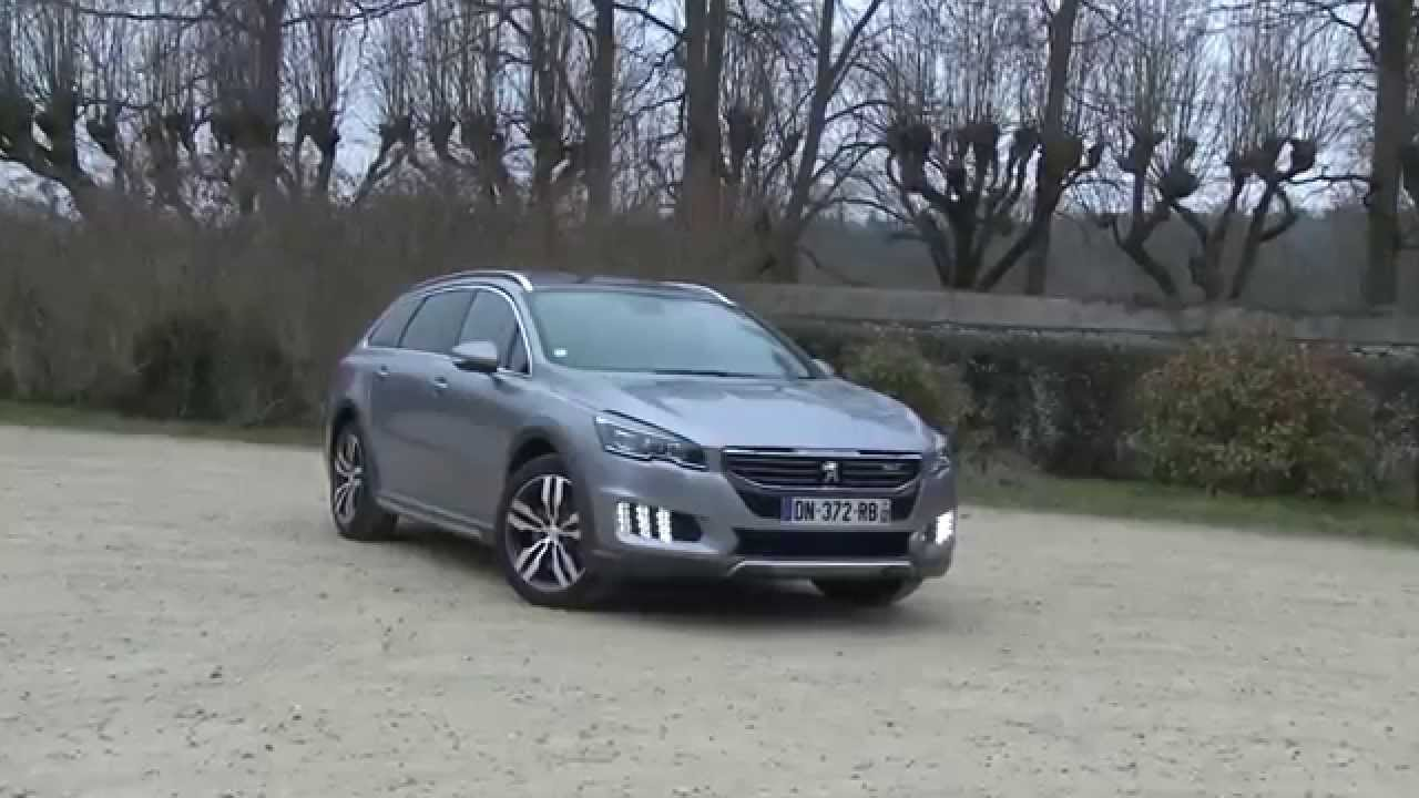 essai peugeot 508 rxh 2 0 bluehdi 180 eat6 2015 youtube. Black Bedroom Furniture Sets. Home Design Ideas