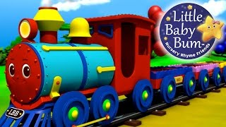 The Color Train Song! Learn Colors with the LittleBabyBum Train! 3D Animation in HD