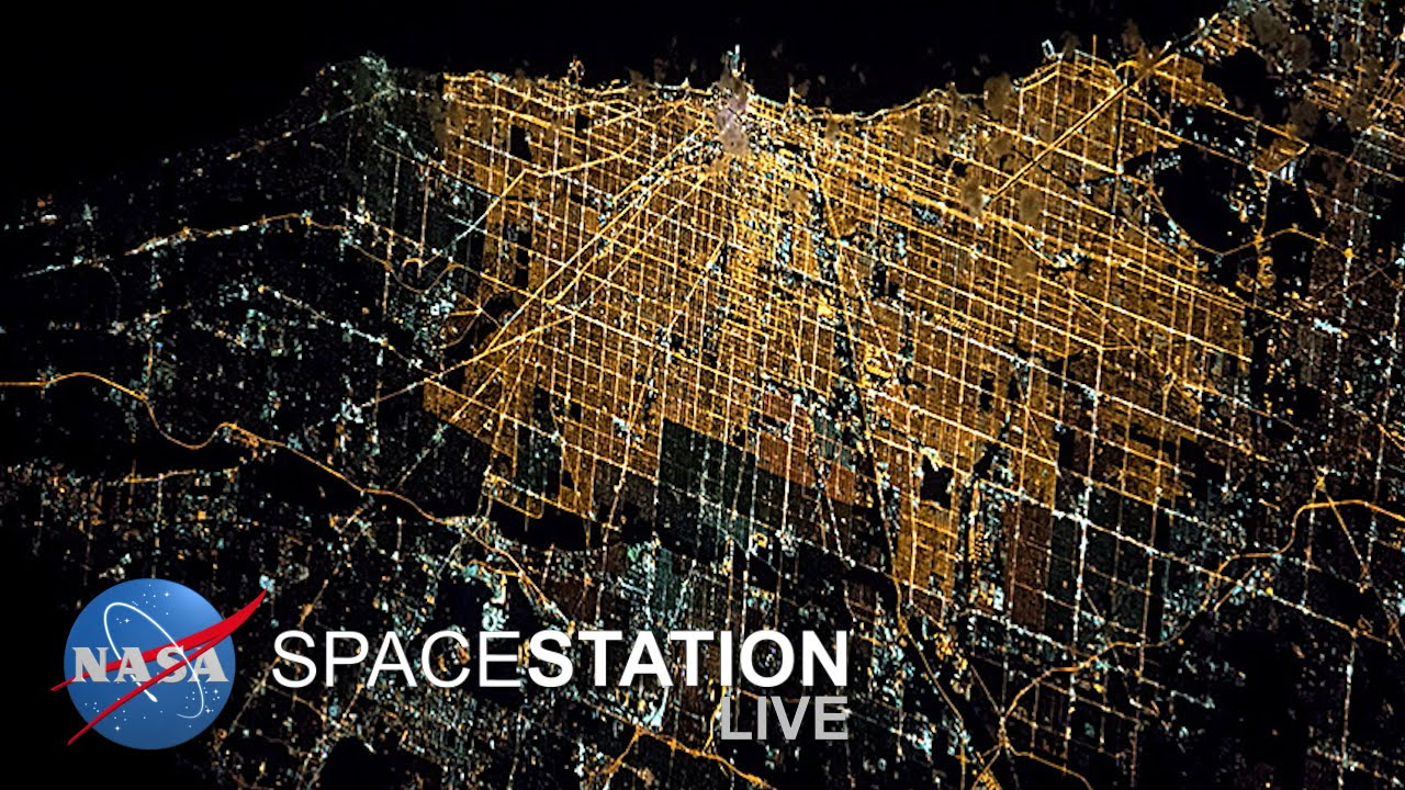 Space Station Live: An Earth Day View of Earth - YouTube