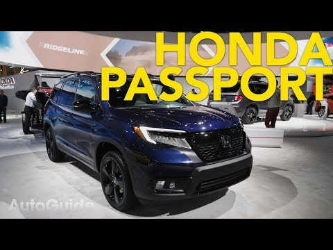 2020 Honda Passport First Look - 2018 LA Auto Show