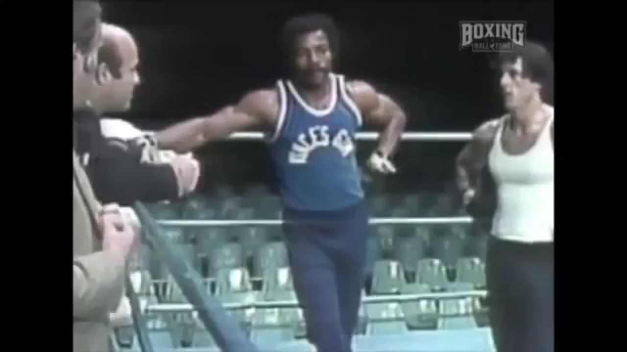 Image result for sylvester stallone carl weathers training