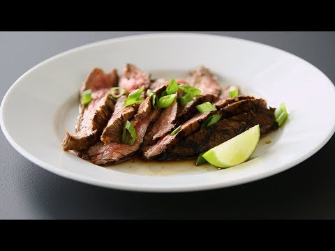 How to cook marinated flank steak in oven